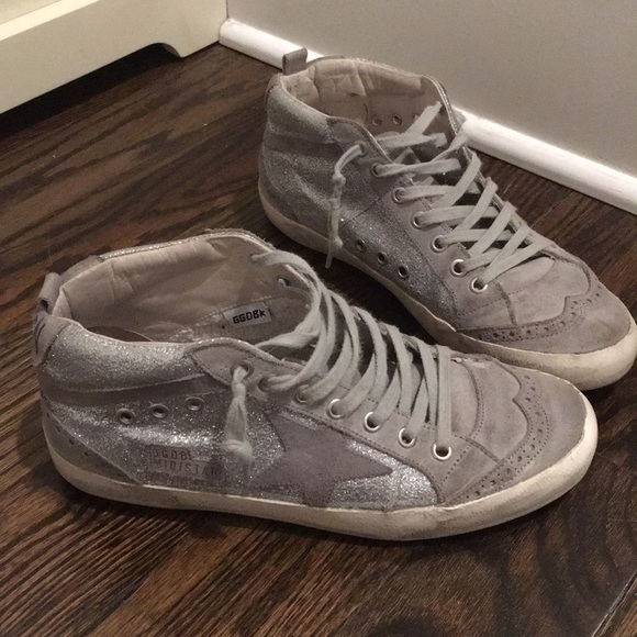 new product d6368 59ae3 Golden Goose Shoes - Golden Goose Deluxe Brand Mid-Star sneakers, 38